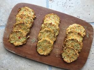 Nem rösti med blomkål, broccoli, chiafrø og gulerødder