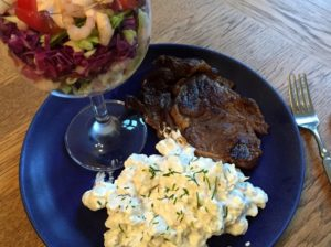 Nem mad - Nem blomkålssalat a la kartoffelsalat
