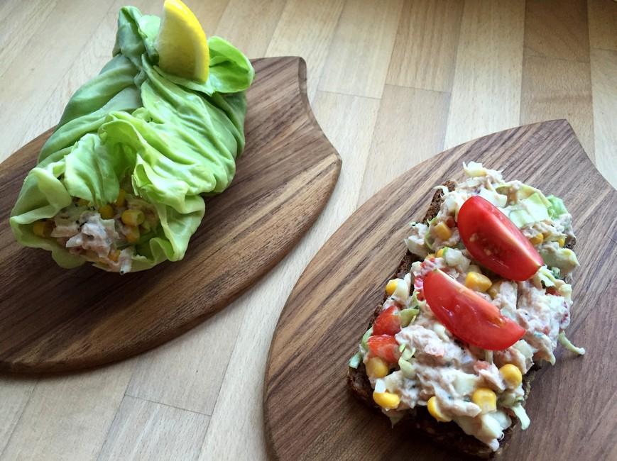 Nem tunsalat med ekstra knas, Nem mad , Svinningegård