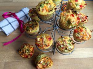 Nemme muffins med grøntsager, Nem mad, Svinningegård