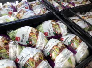 Kinakål, til COOP's butikker, Svinningegård, nem mad med kinakål