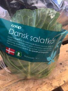 Salatkål i pose